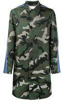 Valentino camouflage coat - men - Cotton/Polyester - 46