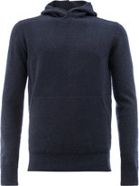 Roberto Collina knitted hoodie