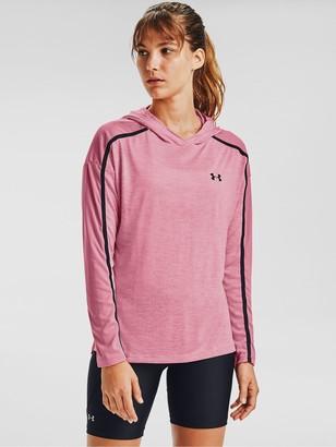 Under Armour Tech Twist Graphic Hoodie - Bright Pink
