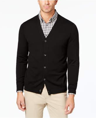 Club Room Men Knit V-Neck Cardigan