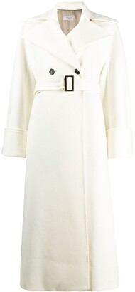 Alberto Biani Longline Button Coat