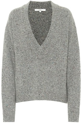 Tibi Tweedy wool-blend sweater