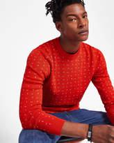 Wool-blend Jacquard Jumper