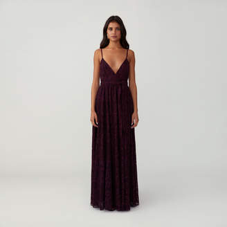 Fame & Partners Strappy Bare Gown