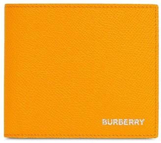 Burberry Logo Print Wallet