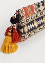 Violeta BY MANGO Ethnic Clutch