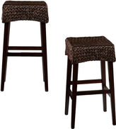 Asstd National Brand Kendall Set of 2 Backless Barstools