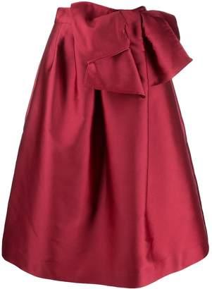 P.A.R.O.S.H. bow detail full skirt