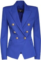 Thumbnail for your product : Balmain Double Breasted Wool Blazer
