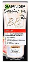 Garnier BB Cream Anti-Ageing Medium 50ml (Pack of 2)