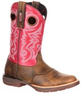 "Rocky Women's 13"" LT Saddle Western Boot"