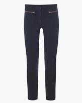 Veronica Beard Denim Skinny Cropped Pant
