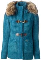 Bark knitted cardi-coat
