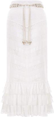 Zimmermann Veneto Perennial Lace Skirt