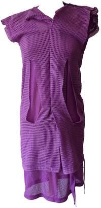Comme des Garcons Purple Synthetic Dresses