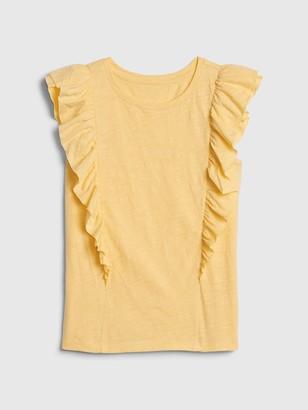 Gap Kids Cascade Ruffle T-Shirt