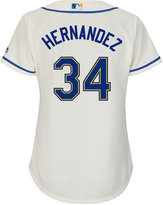 Majestic Men's Felix Hernandez Seattle Mariners Replica Jersey