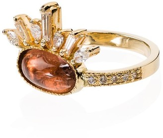 Jacquie Aiche 14kt Gold And Tourmaline Ring