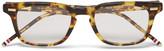 Thom Browne - Square-frame Tortoiseshell Acetate Optical Glasses