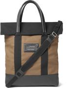 Balenciaga - Leather-trimmed Canvas Tote Bag