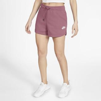 Nike Women's French Terry Shorts Sportswear Essential