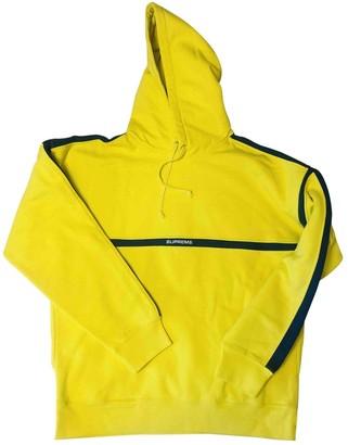 Supreme Yellow Cotton Knitwear