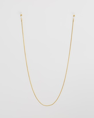 Le Specs Women's Gold Sunglass Accessories - Fine Rope Neck Chain - Size One Size at The Iconic