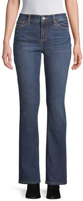 ST. JOHN'S BAY Womens Mid Rise Regular Fit Bootcut Jean