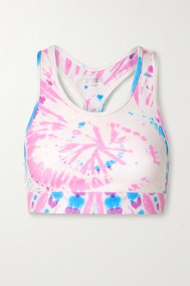 Splits59 Geri Tie-dyed Stretch Sports Bra - Pink