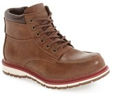 Steve Madden Boy's 'Brha' Zip Hiking Boot