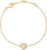 Links of London Diamond Essentials 18ct yellow-gold pave bracelet