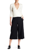Theory Halientra Cropped Wool Blend Pant
