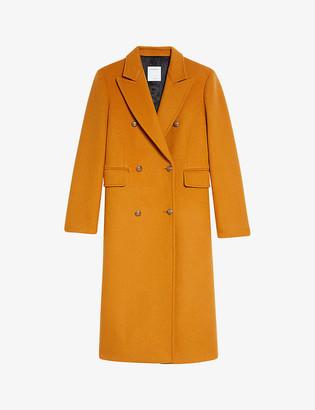 Sandro Maurin wool-blend coat