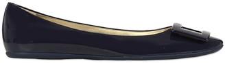 Roger Vivier 10mm Gommette Patent Leather Flats