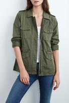 Velvet Ruby Army Jacket