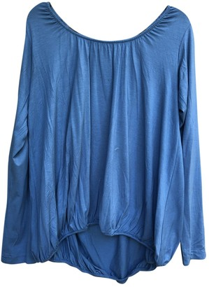Zero Maria Cornejo Zero+maria Cornejo Blue Top for Women
