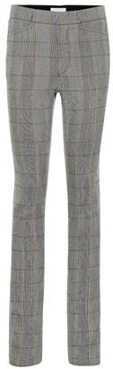 Chloé Checked wool pants