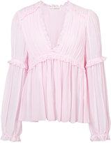 Ulla Johnson frill trim blouse - women - Silk - 4