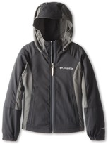 Columbia Kids - SplashFlashtm Hooded Softshell Jacket Boy's Coat