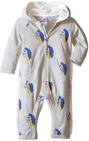 Little Marc Jacobs All Over Printed and Hooded Bodysuit Girl's Jumpsuit & Rompers One Piece