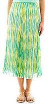 JCPenney Lark Lane® Print Broomstick Skirt