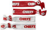Aminco Kansas City Chiefs Elastic Hair Tie Set