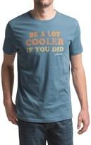 JKL Be a Lot Cooler Graphic T-Shirt - Short Sleeve (For Men)