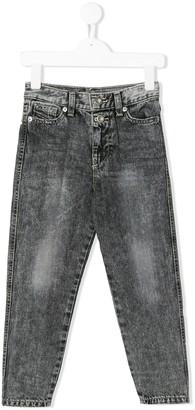 Diesel Swarovski-embellished tapered-leg jeans