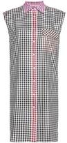 Christopher Kane Exclusive to mytheresa.com – gingham cotton dress
