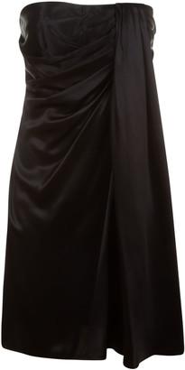 Dolce & Gabbana Draped Off-shoulder Dress