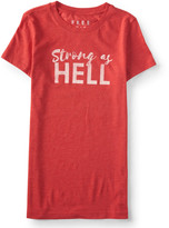 Aeropostale Free State Strong As Hell Graphic T