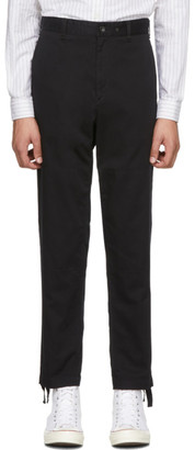 Rag & Bone Black Corbin Trousers