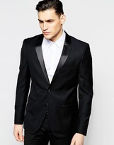 Antony Morato Tuxedo Jacket In Super Slim Fit