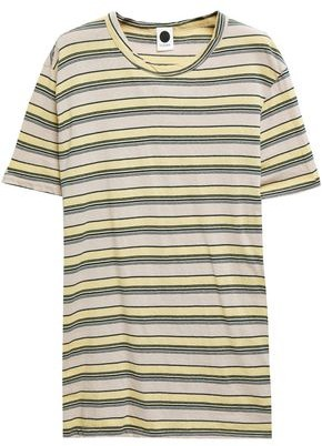 Bassike Striped Organic Cotton-jersey T-shirt